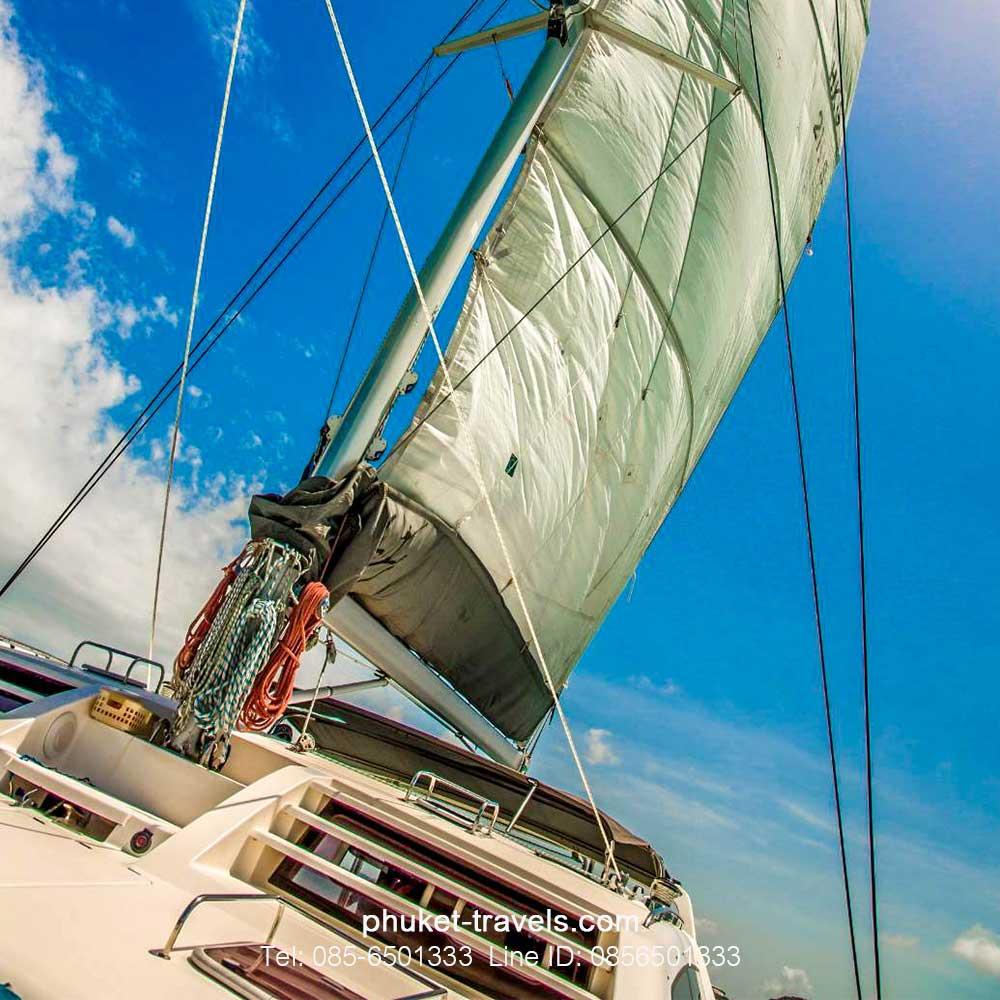 ทัวร์เกาะเฮ+เกาะราชา ชมซันเซท เรือคาตามารัน