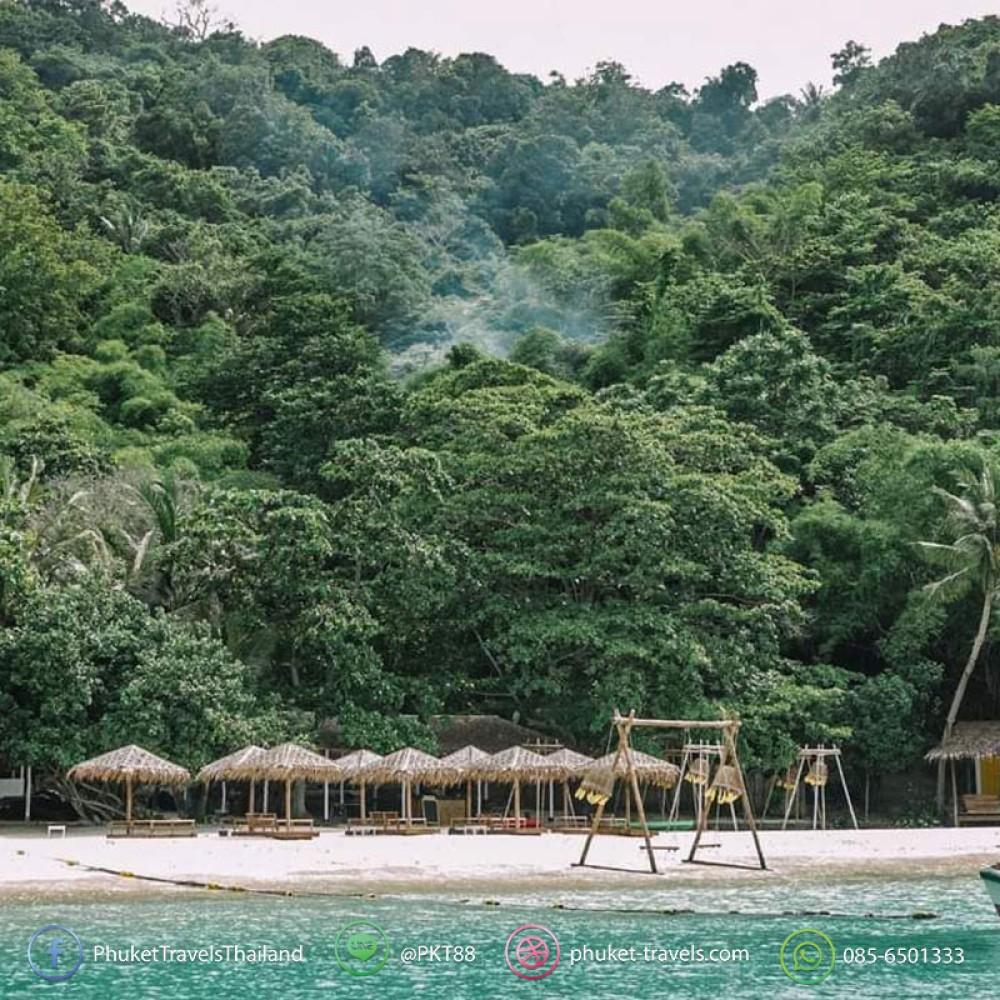 บานาน่าบีช เกาะเฮ เกาะไม้ท่อน ครึ่งวัน