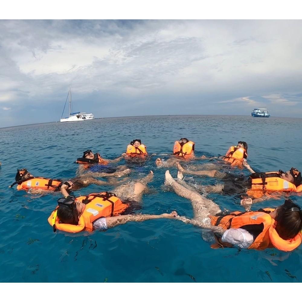 เกาะไม้ท่อน เกาะโหลน เรือคาตามารัน