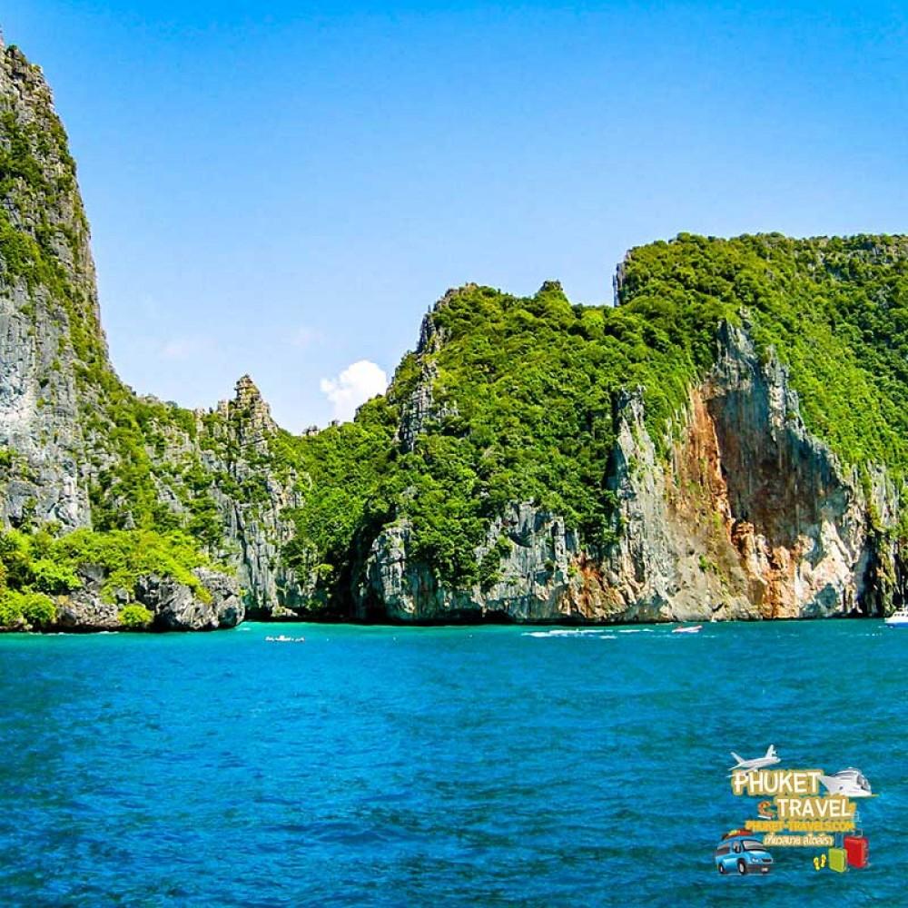 เกาะพีพี อ่าวมาหยา เกาะไข่ เรือสปีดคาตามารัน